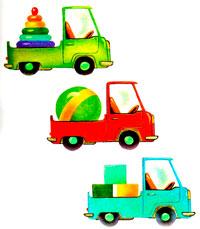 нарисованные картинки для детей машины